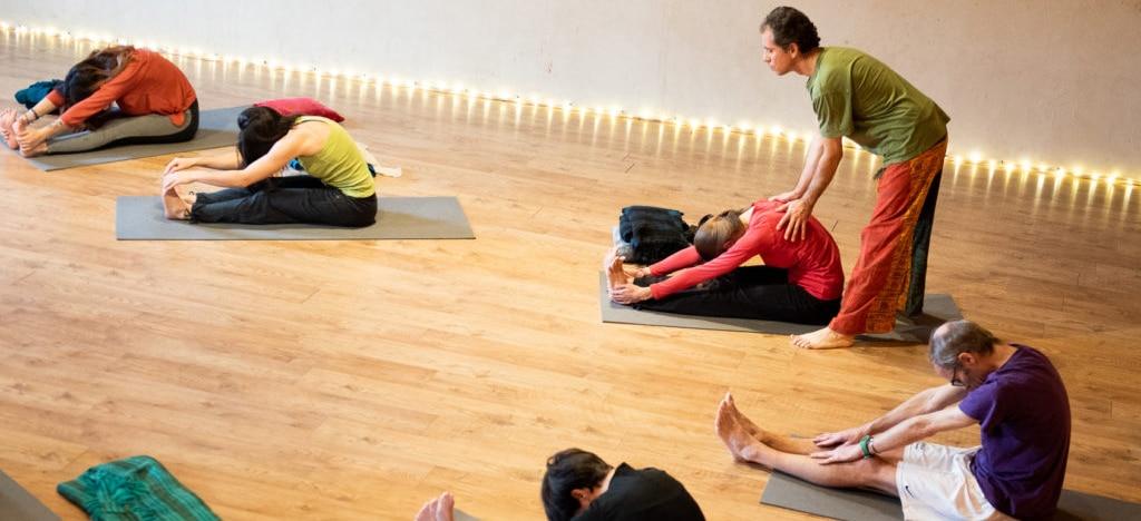 cours de groupe 2 - Ahimsa Yoga Toulouse et Launaguet